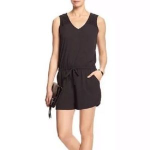 Banana Republic NWT black romper size 2P